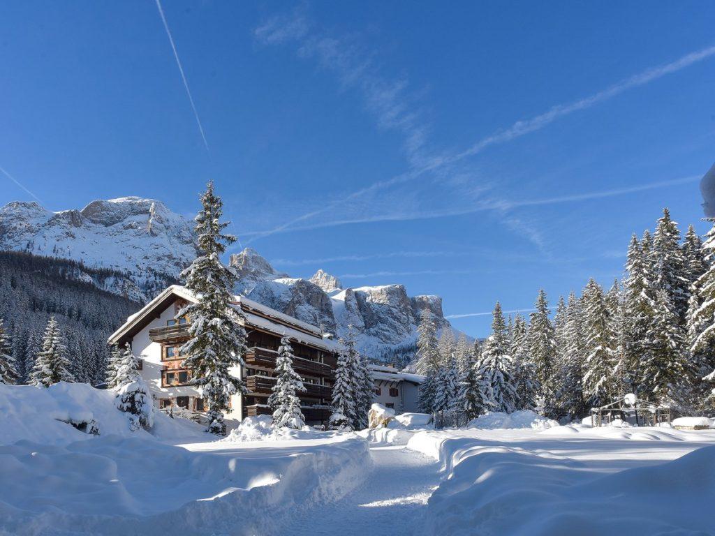 Appartement avec vue panoramique - Corvara, Trentino Tyrol du Sud