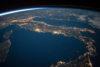 Italie depuis l'espace